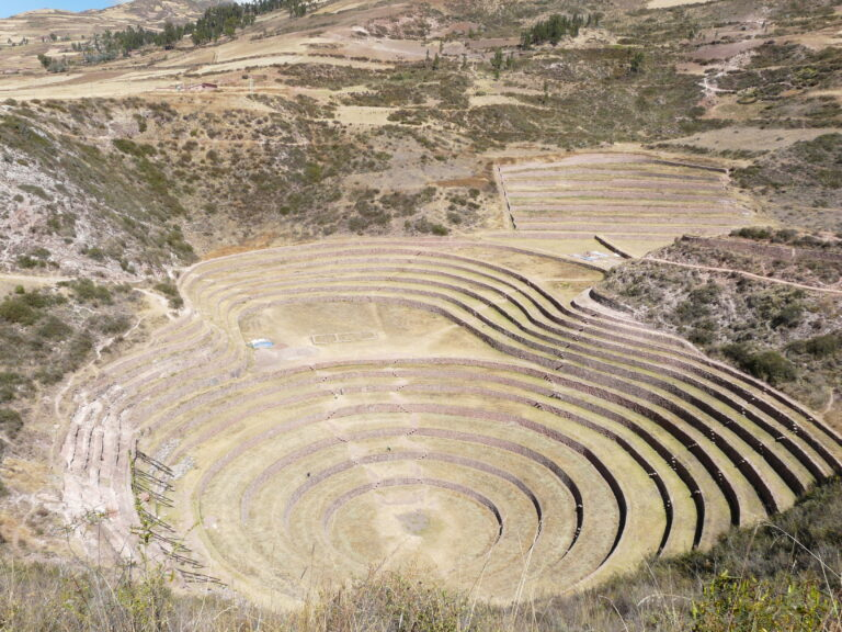 Moray, an agricultural landmark from Inca times.