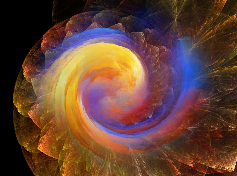 Moving Mandala Spiral by Ali Rabjohns
