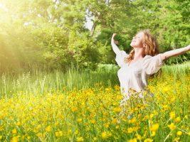 Lucid Healing sub page web slider sunshine girl