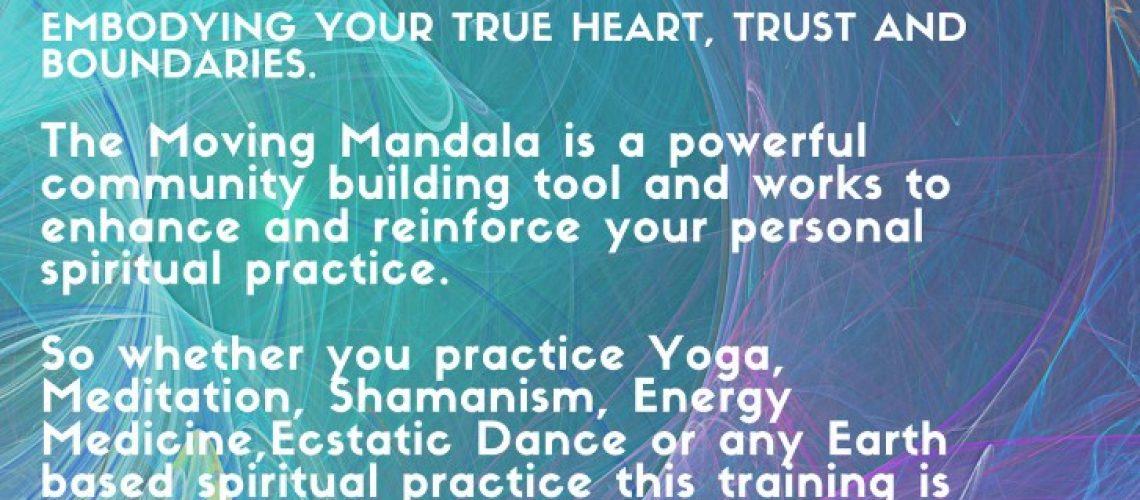 Moving Mandala Leaflet